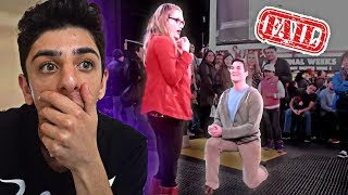 REACTING TO THE WORST MARRIAGE PROPOSAL FAILS!!