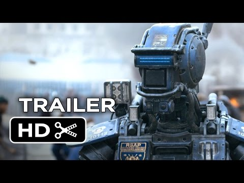 Chappie Official Trailer #1 (2015) - Hugh Jackman. Sigourney Weaver Robot Movie HD