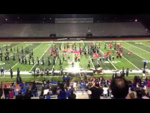 Vela High School Marching Band VS Donna High School Band 10/11/2013