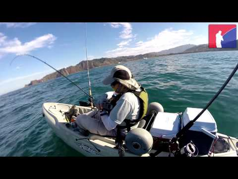 Kayak Fishing Playa Herradura, Costa Rica March 1, 2014 HD
