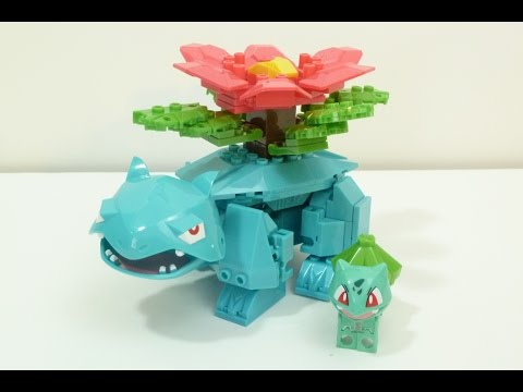 Rob A Reviews Ionix Pokemon Mega Venusaur Building Set