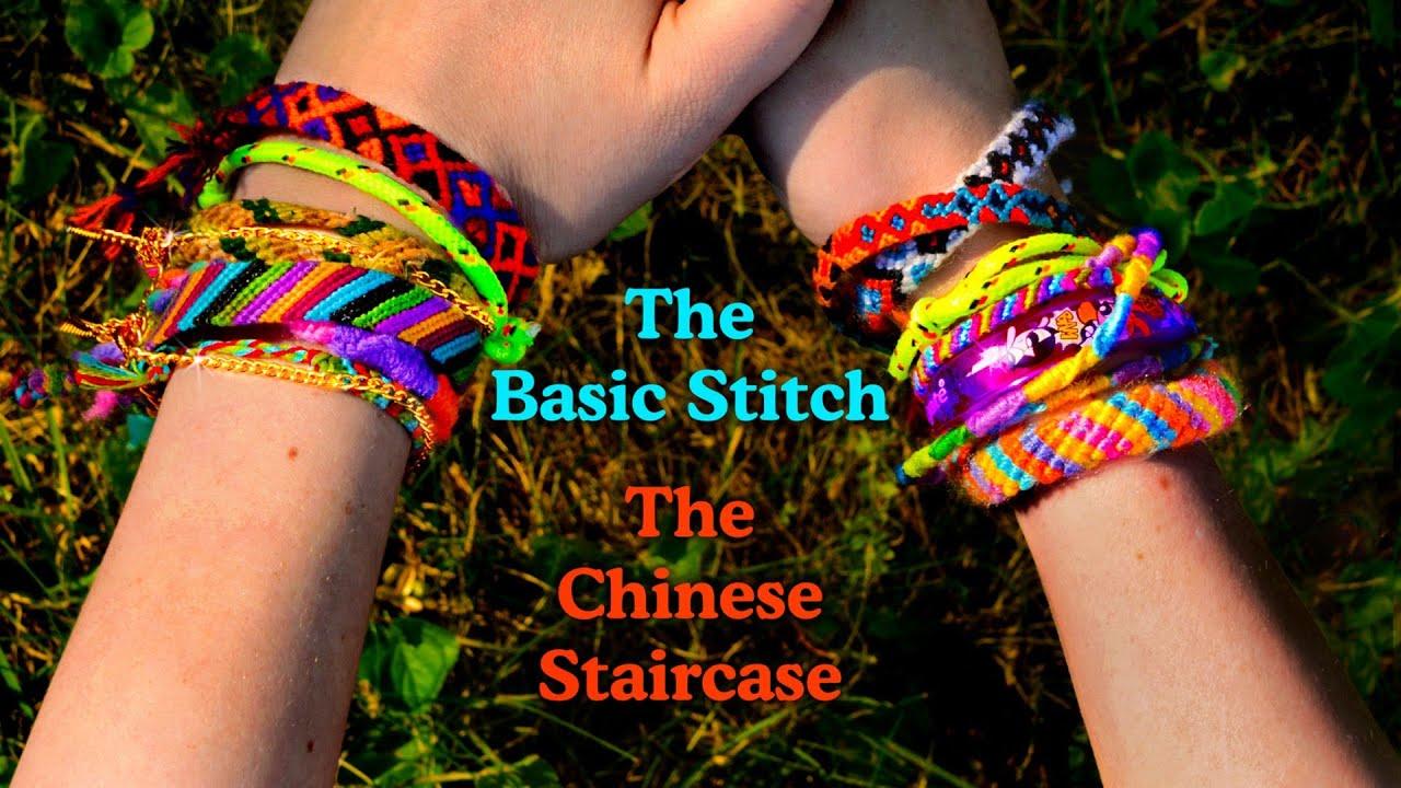 Stitch Friendship Bracelet Friendship Bracelets Learn