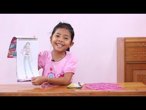 Belajar Mengambar dan Mewarnai dengan Style Me Up edisi princess
