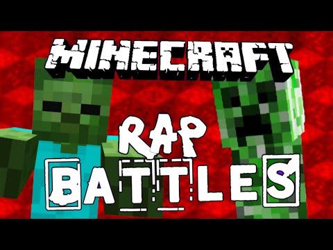 Minecraft rap battle creeper vs zombie - Minecraft zombie vs creeper ...