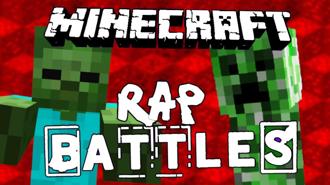 Zombie vs creeper minecraft rap battle youtube - Minecraft zombie vs creeper ...