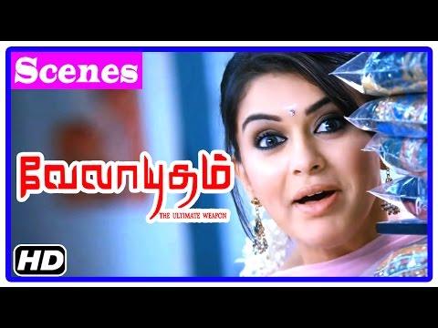 Velayudham Tamil Movie   Scenes   Genelia misunderstands Vijay   Vijay returns lost briefcase thumbnail
