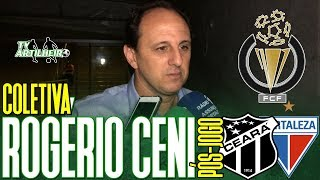 [Cearense A '19] Coletiva Rogério Ceni | Rádio | Pós-jogo Ceará 0 X 1 Fortaleza  | TV ARTILHEIRO