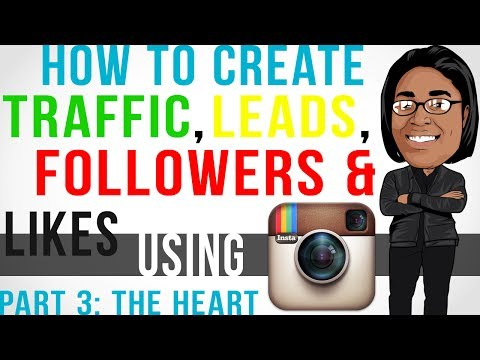 How To Get Traffic. Likes. Followers Using Instagram