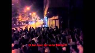 Message des syriens aux libyens et à Bachar VOstFR