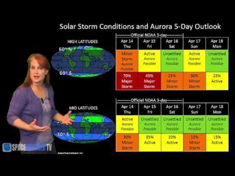 Three Solar Storms To Hit Earth: Solar Storm Forecast 04-14-16