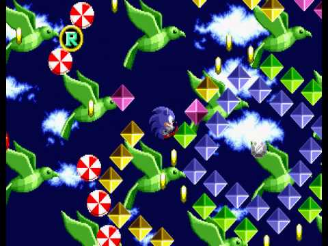 Sonic the Hedgehog - Sega Genesis - sixth and final emerald - User video