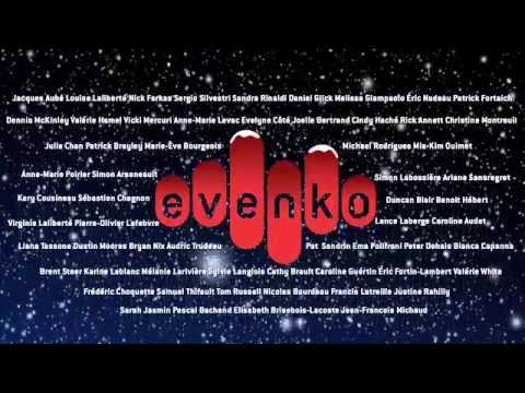 evenko vous souhaite un joyeux temps des Fêtes