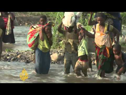 Congolese refugees flood into Uganda