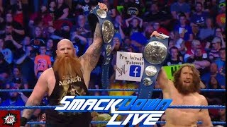 And NEW Smackdown Tag Champions!!! WWE Smackdown Review 5-7-19