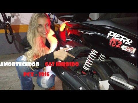 #EP04 - CHEGOUUU Amortecedores PCX 2016 Yss Gas Hibrido + (Universo Honda) #1