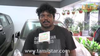 Kalai Arasan At Pattathari Movie Team Interview