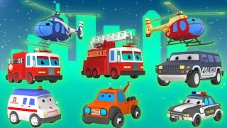 Emergency Vehicles | Vehicles for Kids | Rescue Trucks | 3D Video