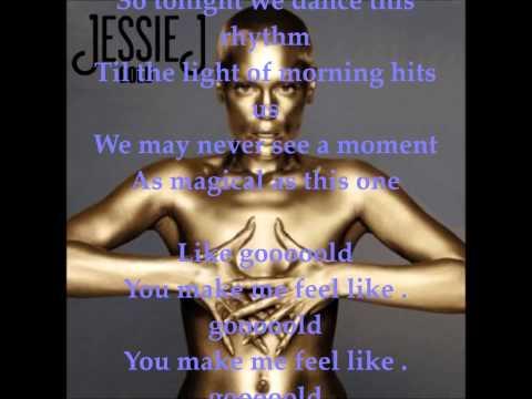Jessie J- Gold (with lyrics)