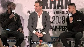 CRAWFORD VS KHAN - THE COMPLETE POST FIGHT PRESS CONFERENCE