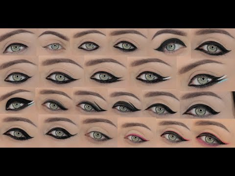 23 different eyeliner styles youtube