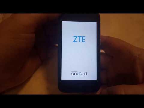 ZTE l110 сброс аккаунта гугл FRP reset