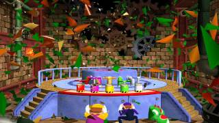 Mario Party 4 minigame: Bowser