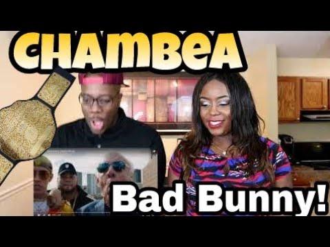 Chambea - Bad Bunny | Couple Reacts