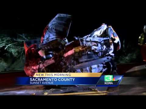 Driver killed when truck plunges into ravine in Fair Oaks