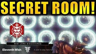 Destiny 2: SECRET RAID ROOM! Grants Wishes! - New Emblem, Lore & More!   Forsaken