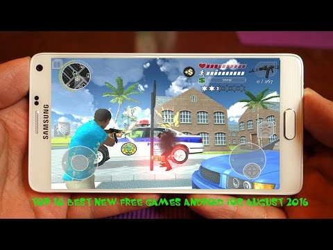 TOP 10 BEST FREE GAMES ANDROID-IOS PLAY IN AUGUST 2016