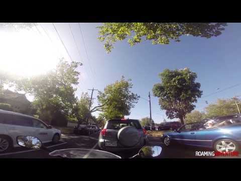 """Hello Buddy"" - Motorcycle Vs Car Road Rage - First Vlog"