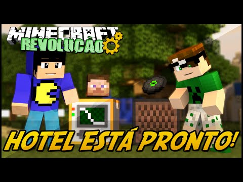 Minecraft: A RevoluÇÃo - Hotel EstÁ Pronto! #75 video