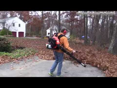 Echo PB-580T Leaf Blower Unboxing. Setup and Review