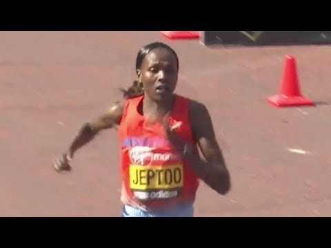 Priscah Jeptoo wins London Marathon