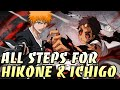 ALL 10 STEPS FOR HIKONE & ICHIGO - BLEACH BRAVE SOULS