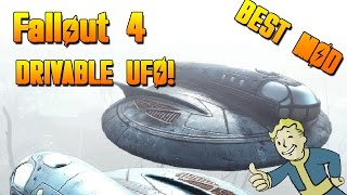 Fallout 4 MODS-Drivable UFO!-Best XBOX ONE MODS! (Fallout 4 Xbox One Mod Showcase!)