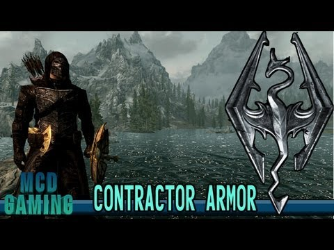 Contractor Armor - The Elder Scrolls V: Skyrim - Mod Spotlight