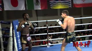 Muay Thai - Jauncey vs Hinds