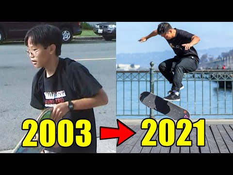 MY 18 YEARS OF SKATEBOARDING PROGRESSION!