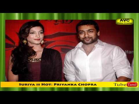 Suriya is Hot: Priyanka Chopra