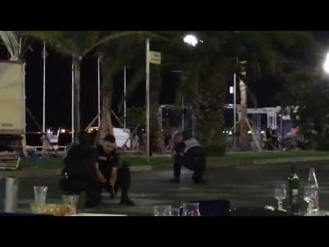 French Police Arrive at Promenade des Anglais in Nice