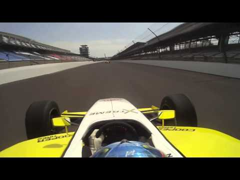 Indianapolis Motor Speedway - Indy Lights - Jimmy Simpson Onboard
