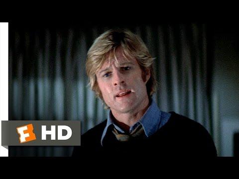 Three Days Of The Condor (2/10) Movie CLIP - I Just Read Books (1975) HD