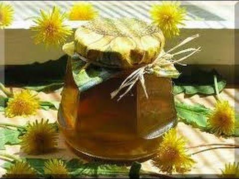 Целебный мед из одуванчиков.