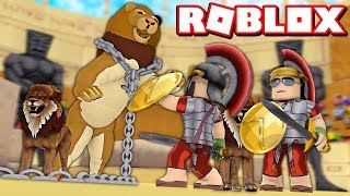 GLADIATOR GAMES in ROBLOX EPIC MINIGAMES