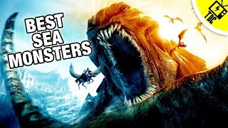 The 6 Best Sea Monsters in Pop Culture History! (The Dan Cave w/ Dan Casey)