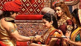 Raksha Bandhan Celebration In 'Chandra Nandni' | #TellyTopUp