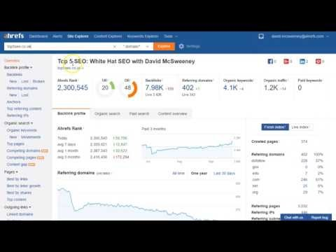 How to Disavow Links Using Ahrefs and Google Webmaster Tools