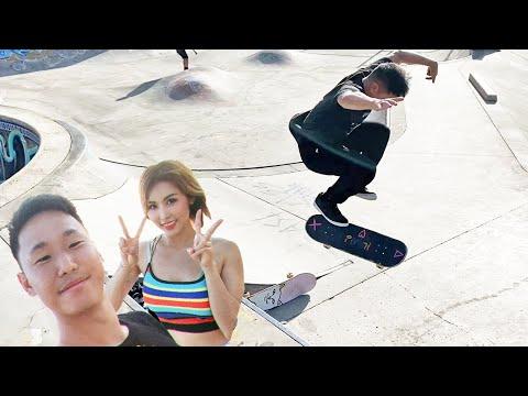 360 HARDFLIP BATTLE!! - Skating Banzai Skatepark On The North Shore Of Hawaii