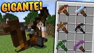 Minecraft: CONHEÇA AS NOVAS BESTAS/CROSSBOW GIGANTES DO NOVO MINECRAFT!